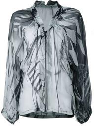 блузка со сборкой Ann Demeulemeester