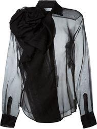 прозрачная блузка Christian Dior Vintage