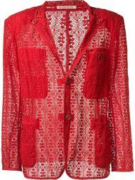 кружевной пиджак Yohji Yamamoto Vintage