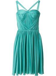 плиссированное платье Christian Dior Vintage