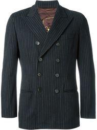 двубортный пиджак в тонкую полоску Jean Paul Gaultier Vintage