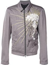 куртка на молнии с вышивкой  Haider Ackermann