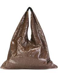 мешковатая сумка-тоут с пайетками Mm6 Maison Margiela