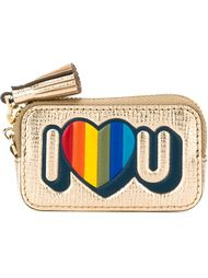 кошелек для монет 'I Heart you' Anya Hindmarch