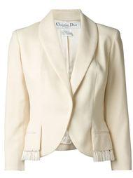 пиджак с лацканами-шалькой Christian Dior Vintage