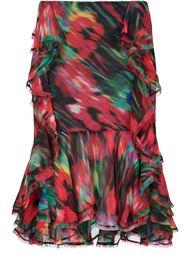 асимметричная юбка с рюшами Jason Wu