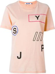 футболка с принтом  Steve J & Yoni P