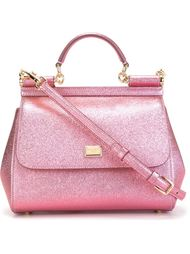 маленькая сумка-тоут 'Sicily' Dolce & Gabbana