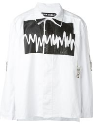 рубашка с принтом звуковых волн Liam Hodges