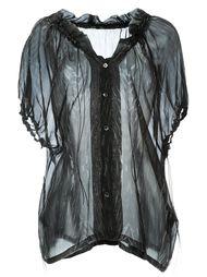 рубашка с принтом Ann Demeulemeester