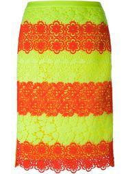 кружевная юбка Moschino