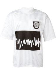 футболка с принтом звуковых волн Liam Hodges