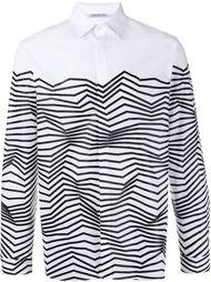 рубашка с абстрактным принтом Neil Barrett