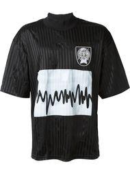 футболка с принтом звуковой волны Liam Hodges