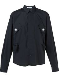 рубашка с накладными карманами J.W.Anderson