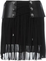 юбка мини с ремнем Versus