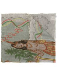 шарф с принтом 'Red Indian' Faliero Sarti