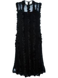 платье с рюшами Comme Des Garçons