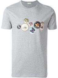 футболка с принтом значков Paul Smith Jeans