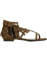 сандалии 'Nu Pieds' Saint Laurent