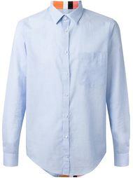 рубашка с контрастными полосками MSGM