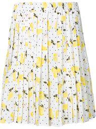 плиссированная мини-юбка Piamita