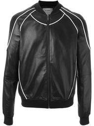 куртка-бомбер с контрастной окантовкой  Les Hommes Urban