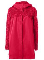 плащ с вышивкой Moncler Gamme Rouge