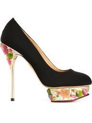 декорированные туфли 'Dolly' Charlotte Olympia