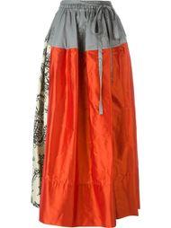 длинная юбка с панельным дизайном Vivienne Westwood Red Label