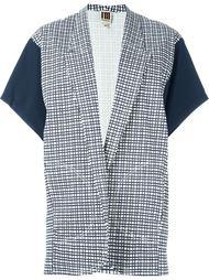 пиджак с рукавами-кимоно в клетку I'M Isola Marras