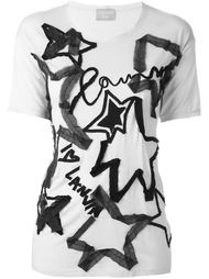 футболка с аппликацией Lanvin