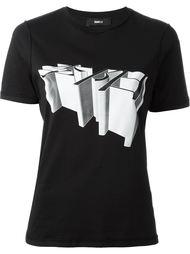 футболка с 3Д принтом  Yang Li