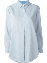 рубашка свободного кроя в полоску  Mih Jeans