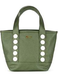 сумка-шоппер с искусственными жемчужинами Muveil