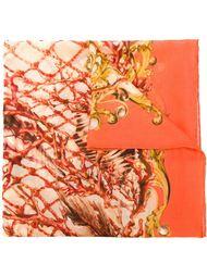 шарф с принтом Барокко Balmain