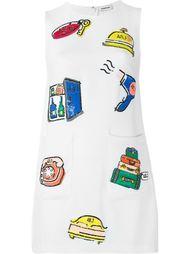 платье шифт с пайетками Au Jour Le Jour