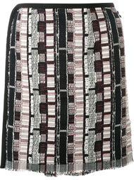 юбка с узором Навахо  Christopher Esber