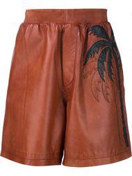 спортивные шорты с принтом пальмы Dsquared2