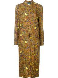 """платье-рубашка с принтом """"пейсли"""" Kenzo Vintage"""
