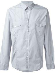 рубашка с мелким принтом Golden Goose Deluxe Brand