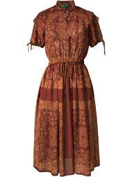 прозрачное платье с орнаментом Jean Paul Gaultier Vintage