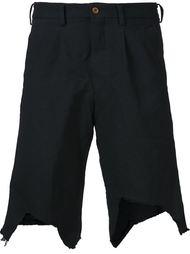 шорты с необработанными краями Comme Des Garçons Homme Plus