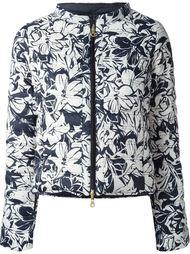 куртка с цветочным принтом   Duvetica