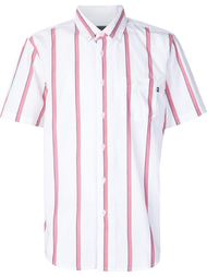 полосатая рубашка с короткими рукавами Obey