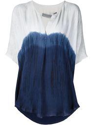 блузка с градиентным узором Raquel Allegra