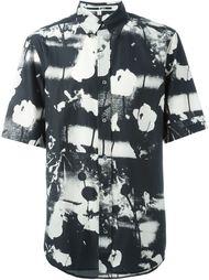 рубашка с принтом Monochrome Floral  McQ Alexander McQueen
