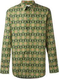 рубашка с ацтекским принтом Givenchy