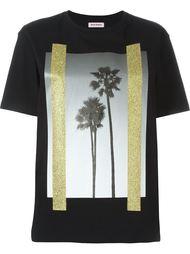 футболка с принтом пальм  Palm Angels