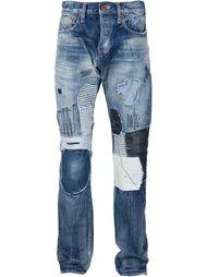 джинсы с лоскутным узором Prps Noir